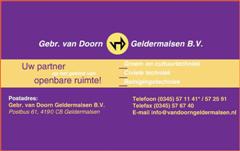 Gebr. van Doorn (WinCE)